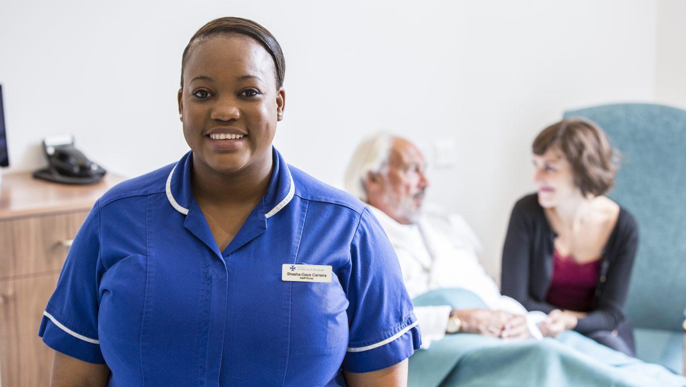 London Urology Nurse With Patient